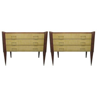 Pair of Italian Chests in the Manner of Gio Ponti