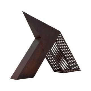 John Raimondi Modern Brutalist Steel Sculpture