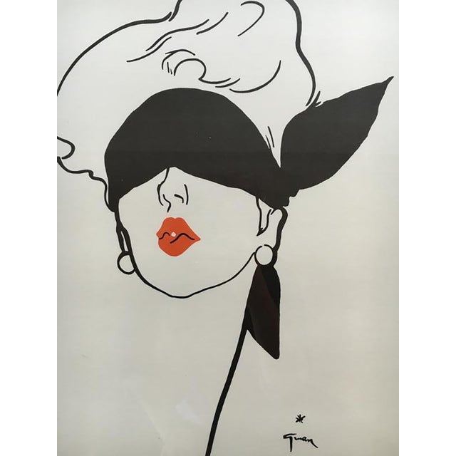 Le Rouge Baiser Print - Image 2 of 2