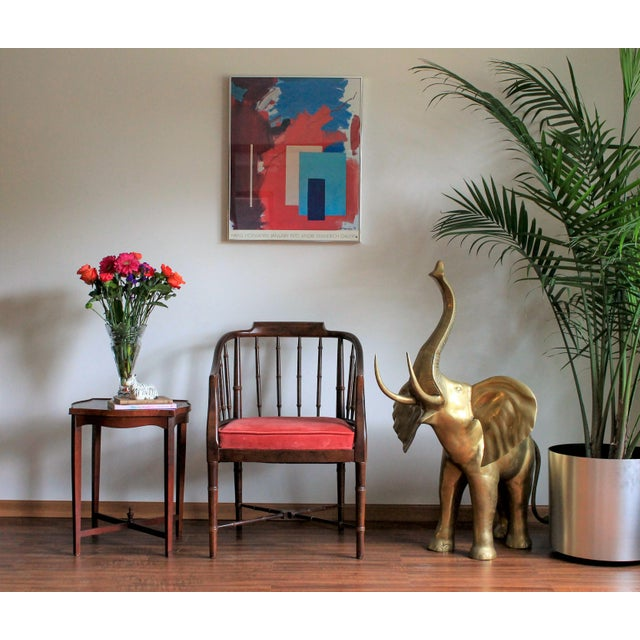 Faux Bamboo Armchair - Image 8 of 8