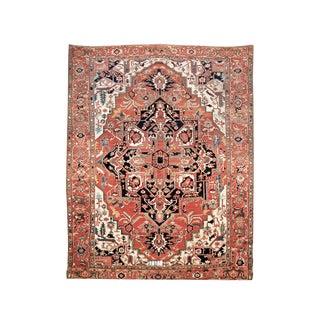 Square-Shaped Serapi Carpet