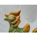 Image of Chinese Terracotta Roof Finials - Set of 3
