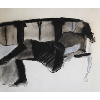 1960s Figurative Drawing I by Laura Smith
