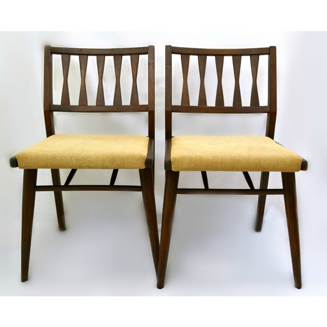 Holman Danish Modern Dining Room Chairs - Pair - Image 2 of 8