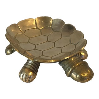 Brass Turtle Soap Dish