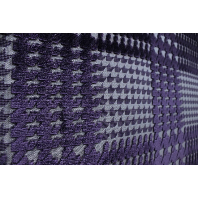 Image of Tessel Aubergine Fabric - 10 Yards
