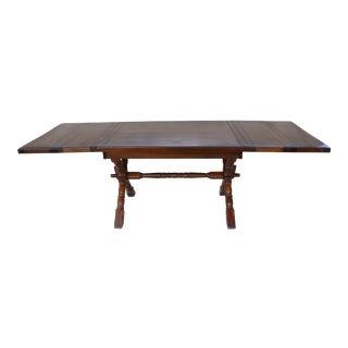 Trestle X Base Dining Room Farm Table