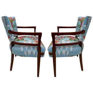 1940 Gilbert Rohde Pair of Armchairs