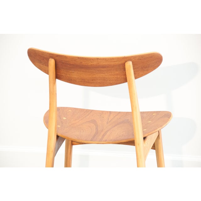 Danish Modern Bentwood Chair - Image 10 of 11