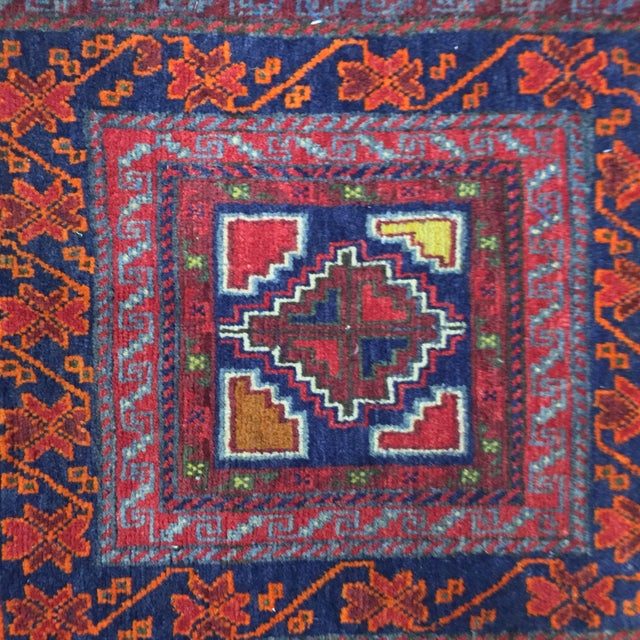 """Vintage Red Persian Rug - 1'11"""" x 2'4"""" - Image 4 of 9"""