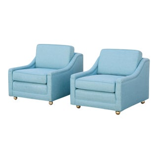 1950s Classic American Lounge Chairs - A Pair