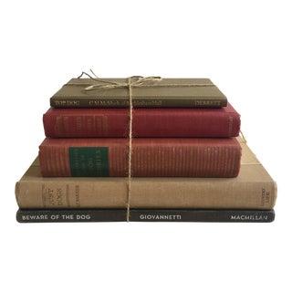 Vintage Dog Books - Set of 5
