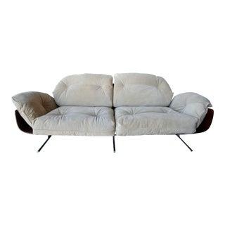 Presidential 1960s Brazilian Jacaranda Sofa by Jorge Zalszupin