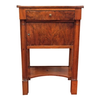 Period Empire Side Table with Columns
