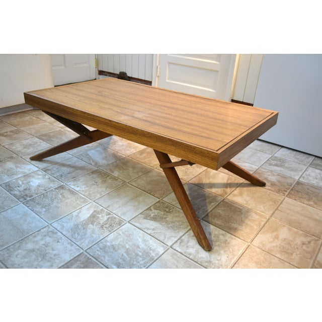 Mid-Century Castro Convertible Dining/Coffee Table - Image 2 of 4