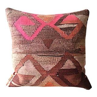 Kilim Rug Upholstered Pillow