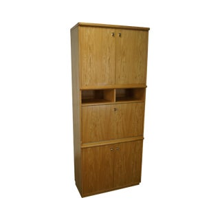 Thomasville Blond Bookcase Cabinet