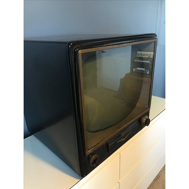1950s Rca Television in Rare Black Metal Case - Image 7 of 8