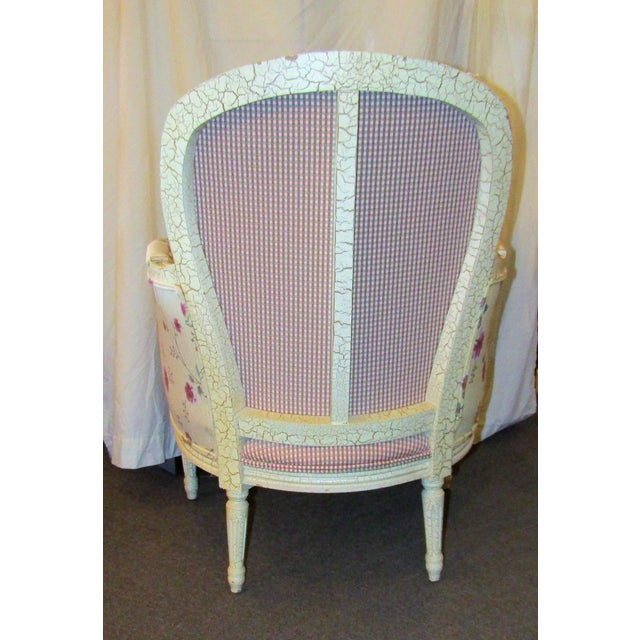 Wesley Hills Floral Upholstered Side Chair - Image 6 of 6