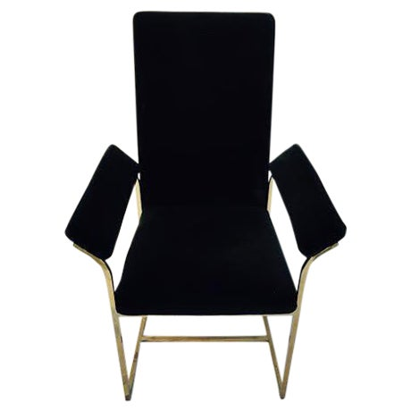 Image of Midcentury Hollywood Regency Dining Chairs - 4