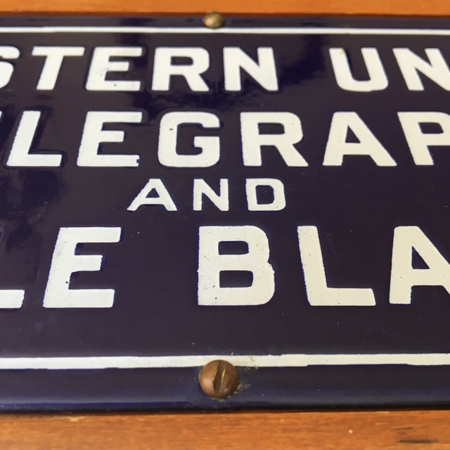 Image of Western Union Telegraph & Cable Blanks Box