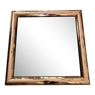 Jon Gilmore Gold Mirrored Frame Mirror