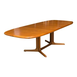 Dyrlund Danish Modern Teak Dining Table