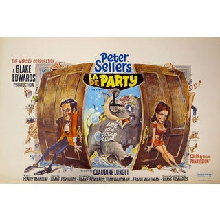 """The Party"" Belgian Film Poster"
