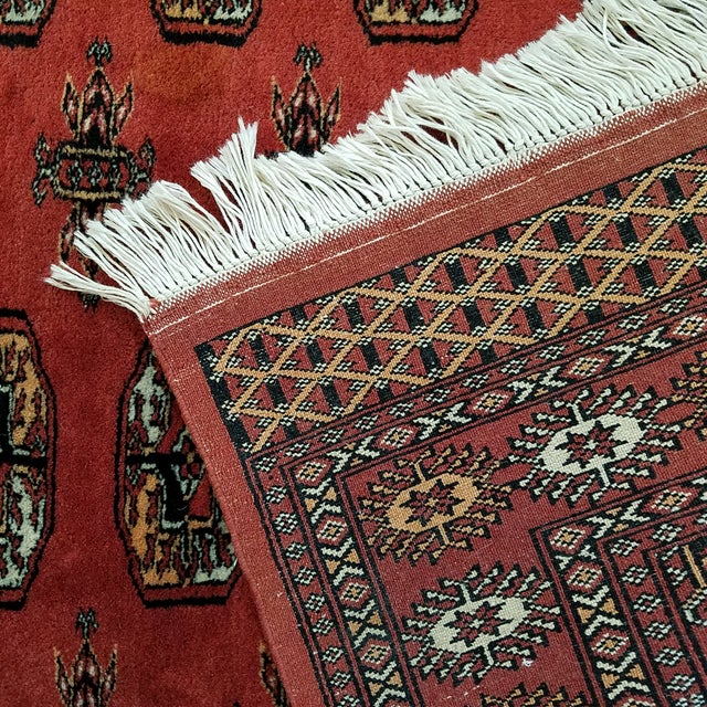 Vintage Hand Woven Persian Rug - 3′ × 5′7″ - Image 5 of 7