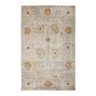 """Suzani Hand Knotted Area Rug - 3' 10"""" X 6' 1"""""""