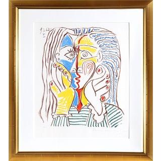 Pablo Picasso Estate Visage Lithograph