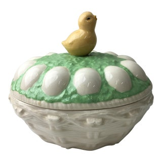 Easter Motif Porcelain Box