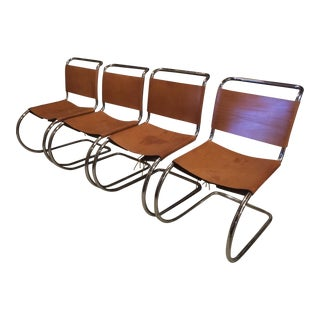 Mies Van Der Rohe Guest Chairs - Set of 4
