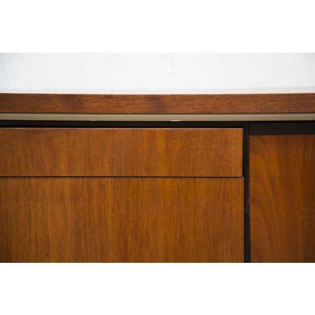 Rosewood Steel Office Credenza - Image 7 of 11