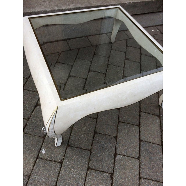Maitland Smith Tessellated Stone Coffee Table - Image 3 of 8