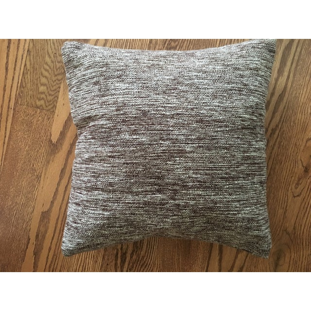 Handwoven Wool Accent Pillow - Image 2 of 4