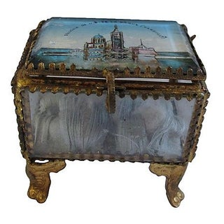 Antique French Marseilles Ring Box