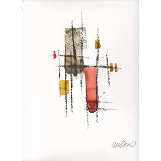 """Rebar Thirteen"" Original Watercolor & Charcoal Painting"