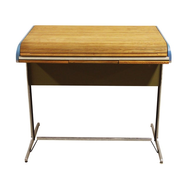 George Nelson Action Office Tambour High Desk - Image 5 of 10