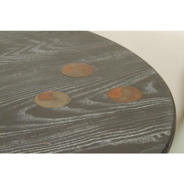 Martin & Brockett Circle Entry Table With X Base - Image 7 of 7