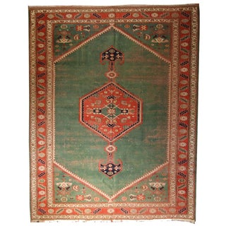 Turkish Rug With Bidjar Design - 6′7″ × 8′10″