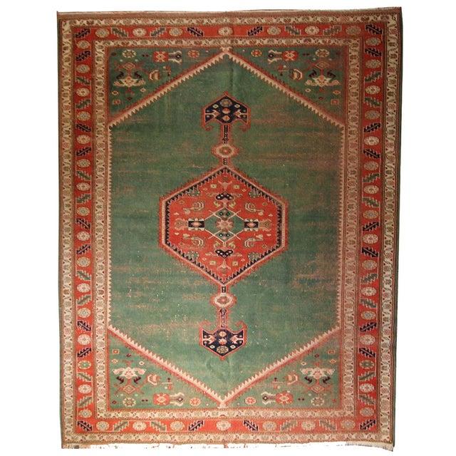 Image of Turkish Rug With Bidjar Design - 6′7″ × 8′10″