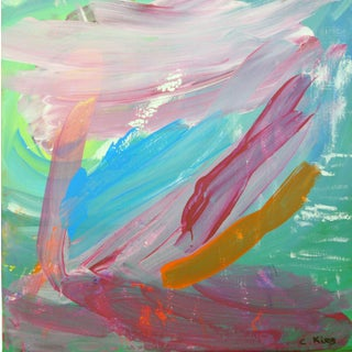 Original Acrylic Painting Abstract 1 by C. Kiser
