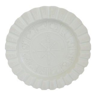 Imperial Glass Zodiac Ashtray