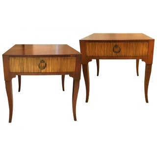 Vintage Baker Side Tables - A Pair
