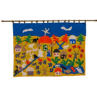Central American Nativity Wall Hanging