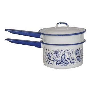 French Enamel Pot