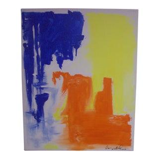 "Dawn Walling ""Vibe"" Original Acrylic Painting on Canvas"