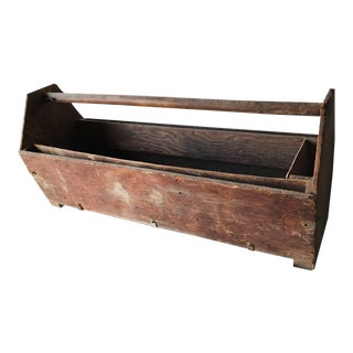 Vintage Tool Box Caddy
