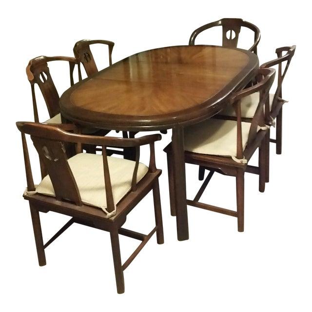 drexel asian ming style dining set chairish